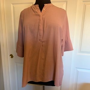 Banana republic long sleeve pink
